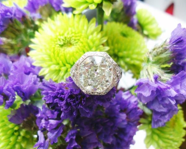 Rika's Stunning Engagement Ring