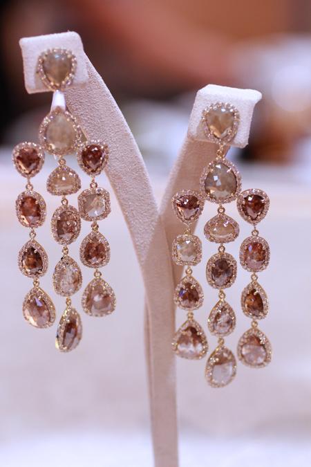Sutra rose cut diamond earrings JCK Luxury 2011
