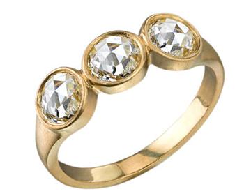 Irene Neuwirth Rose Cut Diamond Ring