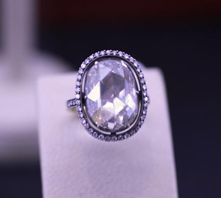 Norman Covan rose cut diamond ring JCK Luxury 2011