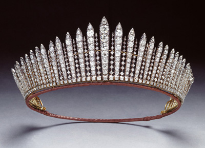 The Russian Fringe Tiara