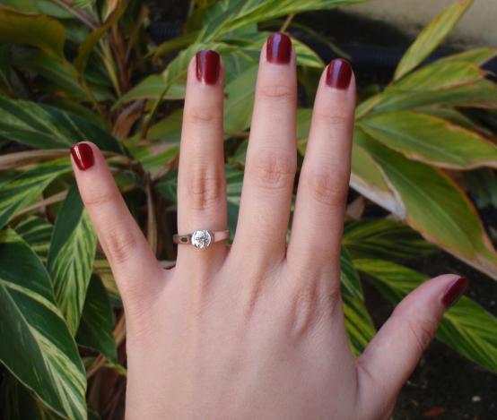 Sholdt Semi Bezel Diamond Engagement Ring