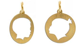 Vicente Agor Silhouette pendants