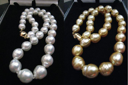 South Sea Pearl Necklaces June Birthstone