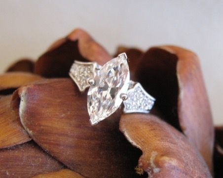 Snicklefritz's Marquise Engagement Ring