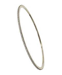 Solomon Brothers Pave Diamond Bangle Bracelet