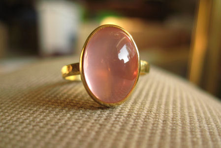 Jewel of the Week - Star Rose Quartz in 22k Gold | PriceScope