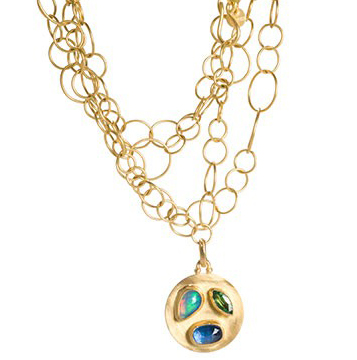Stephanie Albertson Medallion necklace