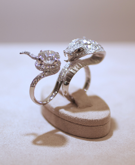 The Temptation of Eve - diamond cocktail ring by Stephen Webster