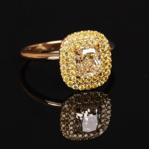 Yellow diamond ring shared by Scarlett1