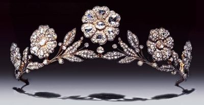 The Strathmore Rose Tiara