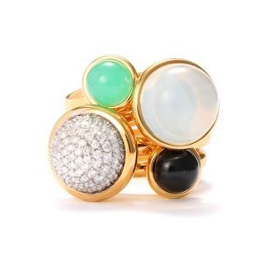 Syna Jewels Baubles stacking rings