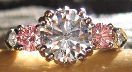 Synthetic Pink Diamonds