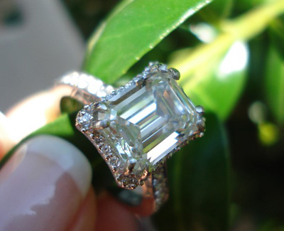 Diamond Engagement Ring by Tacori