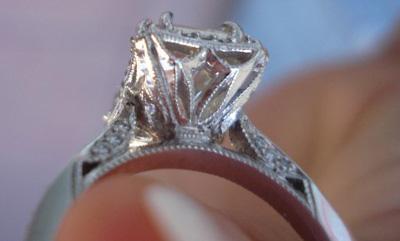Tacori Diamond Engagment Ring Profile