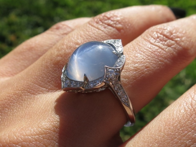 Star Sparkle's 10.5+ ctw Star Sapphire Ring
