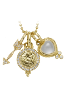 18k Amor gift set by Temple St. Clair