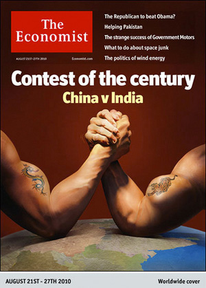 The Economist Contest of the Century China v India August 21st 27th 2010