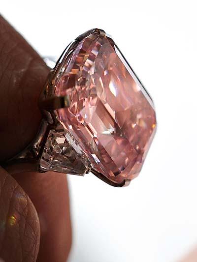 24.78 carat The Graff Pink Diamond