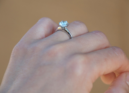 Jewel Of The Week Tiffany Engagement Ring Pricescope