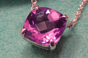 Tiffany Amethyst Pendant