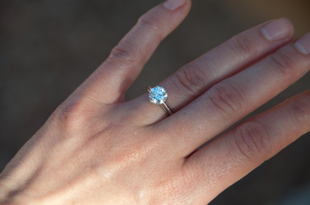 Engagement ring tiffany  Jewel of the Week - Tiffany Engagement Ring | PriceScope