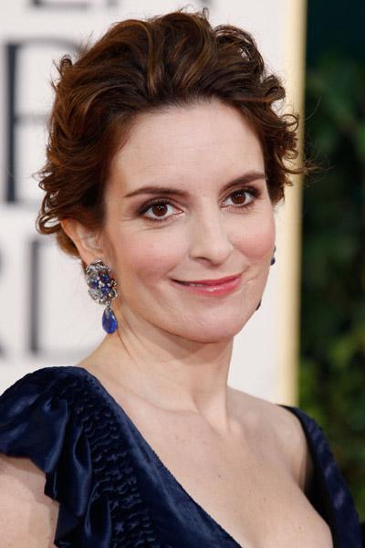 Tina Fey 2011 Golden Globes