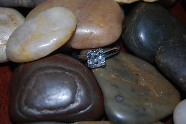 Antique Cushion Engagement Ring