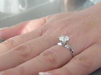 Union Diamond Inspired By Tiffany Engagement Ring Setting