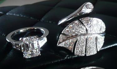 Van Cleef and Arpels Diamond Rings