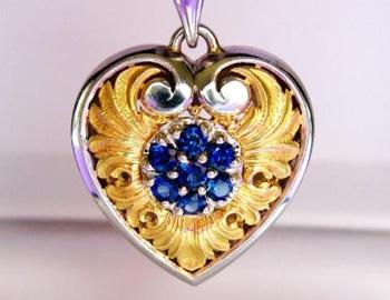 Van Craeynest Heart Pendant