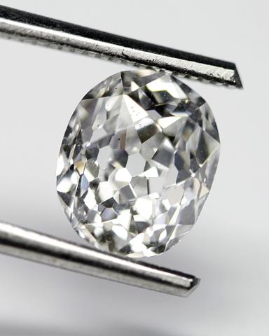 Antique oval cut diamond