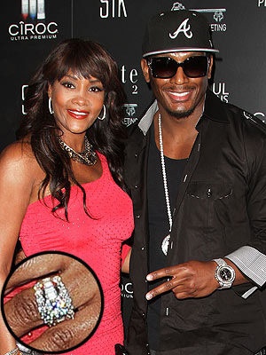 Vivica A. Fox and Omar White engagement ring