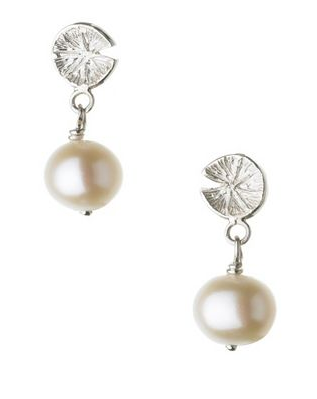 Watch over me purity pearl drop earrings Links of London
