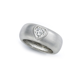 Wendy Brandes Gravity Ring Heart