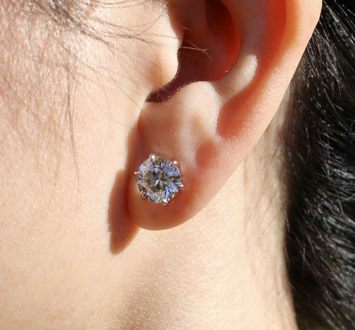 m-2-b 4.8 ctw Whiteflash earrings - image from m-2-b