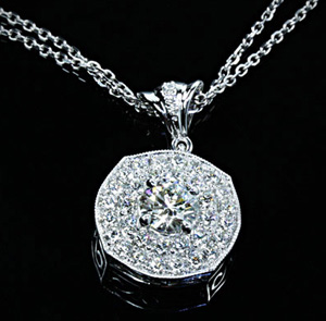 Whiteflash bella diamond pendant