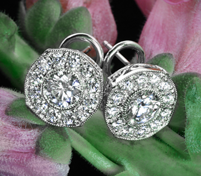 Whiteflash Bella Diamond Stud Earrings