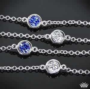 Whiteflash Color Me Mine Diamond Sapphire Bracelet