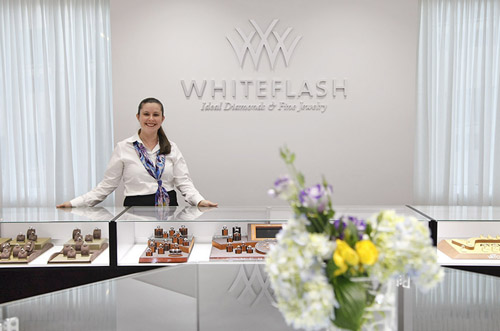 Whiteflash Jewelry Showroom in Sugar Land, Texas