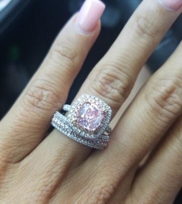 1.78ct fancy pink diamond