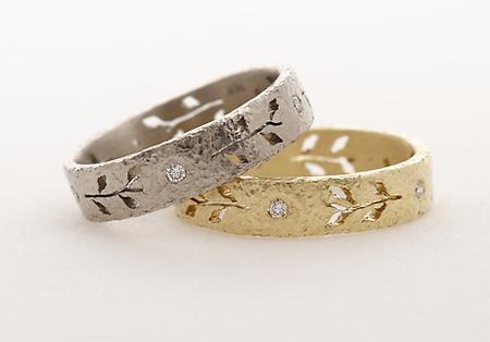 Yasuko Azuma diamond wedding bands