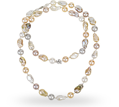 Zoccai pearl necklace