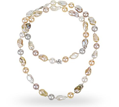 Zoccai pearl necklace