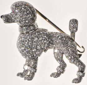 Grace Kelly Cartier Poodle Brooch