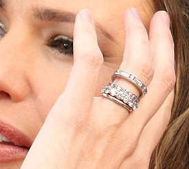 Jennifer Garner Diamond Rings