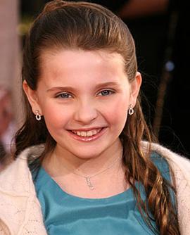 Abigail Breslin Harry Winston ruby earrings