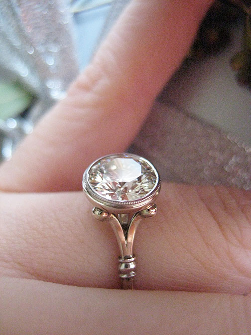Engagement Rings Bezel Setting Styles Pricescope