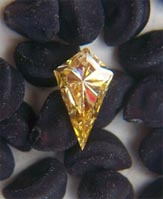 Yellow Diamond Fluorescence
