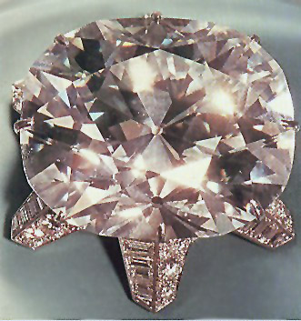 The Jubilee Diamond in Cartier Brooch